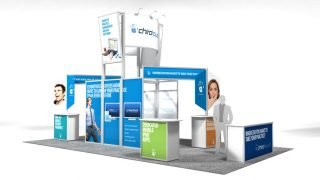 ChiroTouch Custom Exhibit