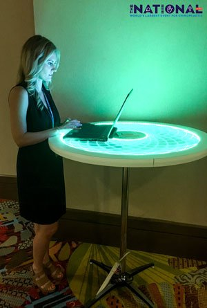 LED ePed Table