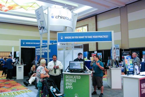 FCA National Expo ChiroTouch Exhibit