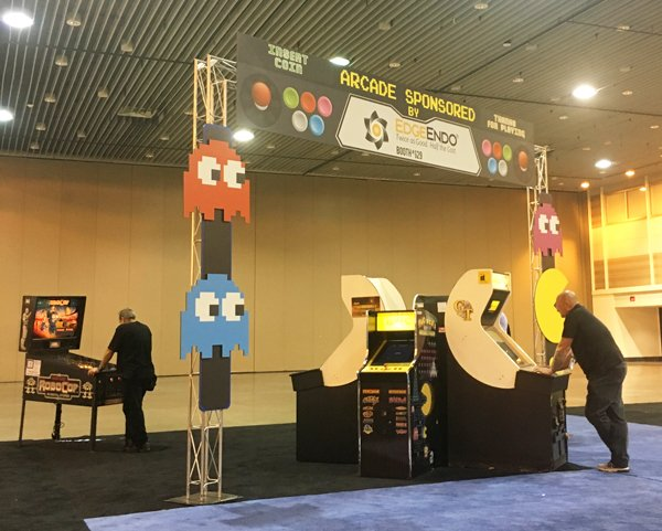 Arcade Games at AAE 2017